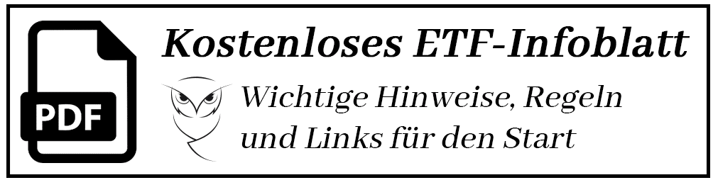 ETF-Infoblatt Banner für Newsletter Abo